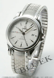 Omega-Devil coaxial 4533.31 chronometer GMT silver mens