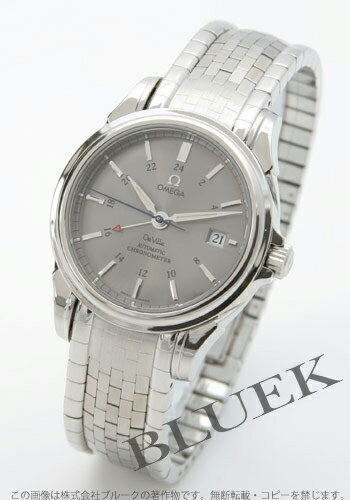 Omega-Devil coaxial 4533.40 chronometer GMT gray mens