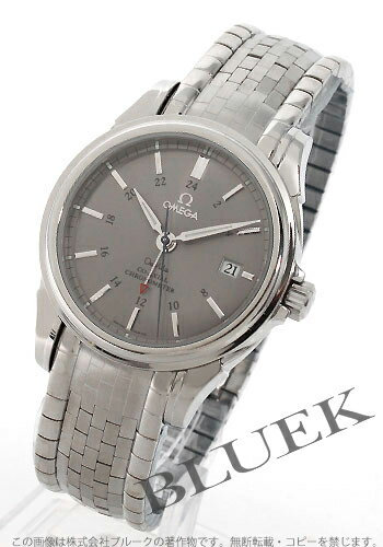 Omega-Devil coaxial 4533.41 chronometer GMT gray mens