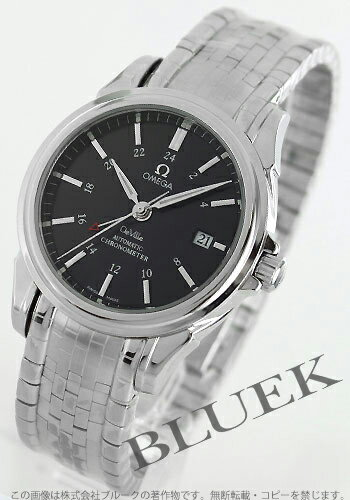 Omega-Devil 4533.50 co-axial GMT chronometer black mens
