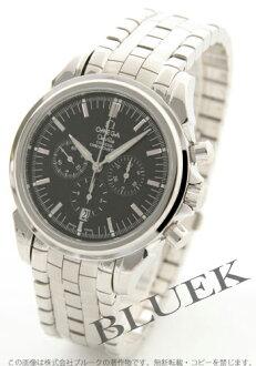 Omega-Devil coaxial 4541.50 chronometer chronograph black mens