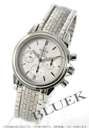 4572.31 オメガデビルコーアクシャル chronometer chronograph silver men