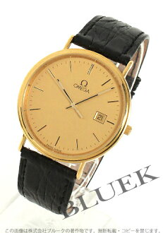 Omega-Devil classic 7920.11.01 YG pure gold leather black / gold mens