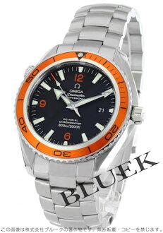 Omega Seamaster Planet Ocean 45 mm 2208.50 co-axial chronometer black オレンジベゼル large