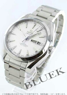 Rakuten Japan sale ★ Omega Seamaster Aqua Terra co-axial chronometer annual calendar silver mens 231.10.43.22.02.001