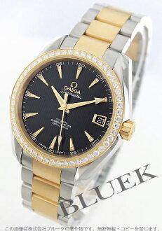 Omega Seamaster Aqua Terra jewellery YG Combi diamond black mens 231.25.39.21.51.002