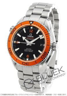 Rakuten Japan sale ★ Omega Seamaster Planet Ocean big size coaxial 600 m waterproof black mens 232.30.46.21.01.002
