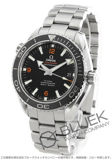 Omega Seamaster Planet Ocean big size coaxial 600 m waterproof black mens 232.30.46.21.01.003