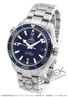 Omega Seamaster Planet Ocean titanium chronometer automatic blue mens 232.90.46.21.03.001