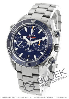 Omega Seamaster Planet Ocean co-axial Chrono titanium 600 m waterproof blue mens 232.90.46.51.03.001