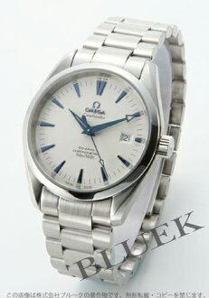 Omega Seamaster Aqua Terra 2503.33 co-axial chronometer silver mens