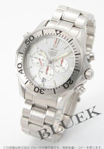 2589.30 omega Cima star chronometer chronograph 300m silver men