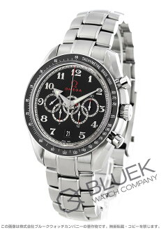 Rakuten Japan sale ★ Omega Speedmaster Olympic collection co-axial chronometer black mens 321.30.44.52.01.002