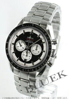 Rakuten Japan sale ★ Omega Speedmaster Michael Schumacher 3507.51 mens black & silver