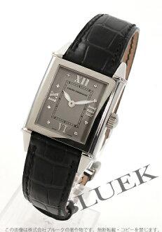 1945 ジラールペルゴヴィンテージ 8P diamond alligator leather black / gray Lady's 25740.0.11.21M