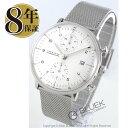 ユンハンス マックスビル クロノスコープ クロノグラフ 腕時計 メンズ JUNGHANS 027/4...