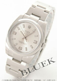 Rolex Ref.114200 Air-King Watch Silver Arabic men