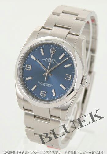 Rolex Ref.116000 オイスターパーペチュアルブルーアラビアメンズ