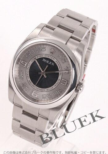 Rolex Ref.116000 オイスターパーペチュアルブルー & silver Arabia men