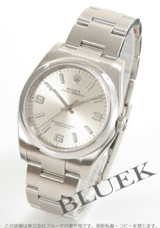 Rolex Ref.116000 Oyster Perpetual silver white Arabian men
