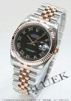 Rolex Ref.116231 Datejust PG Combi 5-breath men's Black Roman