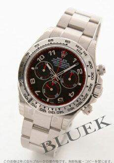 Rolex Ref.116509 Cosmograph Daytona WG Wilsdorf black Arabian men
