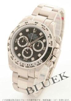 Rolex Ref.116509G Cosmograph Daytona WG Wilsdorf 8 P diamond black mens