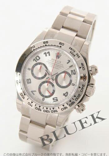 Rolex Ref.116509 Cosmograph Daytona WG pure gold silver Arabian men