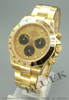 Rolex Ref.116528 Cosmo graph Daytona YG pure gold gold men