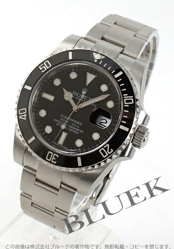 Rolex Ref.116610LN Submariner date ceramic bezel black mens