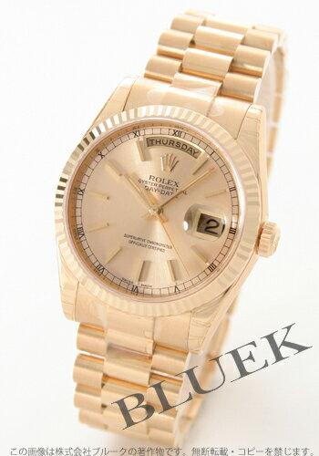 Rolex Ref.118238 Oyster Perpetual Day-Date Watch YG Wilsdorf skylinegt mens