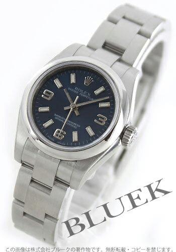 Rolex Oyster Perpetual Ref.176200 blue Arabic ladies