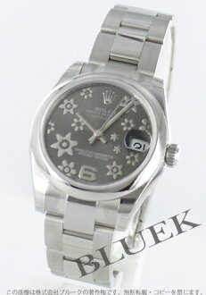 Rolex Ref.178240 Datejust flower gray Arabic ladies