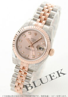Rolex Ref.179171G Datejust diamond index PG Combi Pink ladies