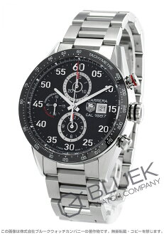 Tag Heuer Carrera 1887 chronograph automatic black mens CAR2A10... BA0799