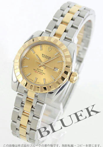 Tudor classic 22013 YG Combi 5-breath gold ladies