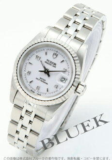 Tudor Princess date 92414 WG bezel white Arabic ladies