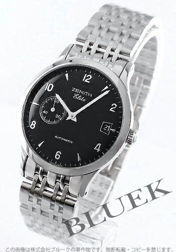 Zenith class elite automatic seconds black mens 02.1125.680/21.M1126