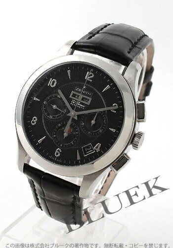 Zenith class moon phase L primero chronograph black men 03.0510.4100/22.C492GB