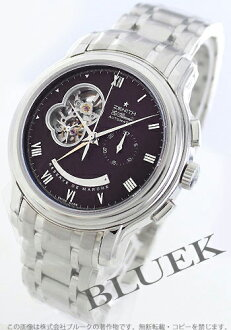 Zenith ground Kurono master opening L primero chronograph dark brown men 03.1260.4021/72.M1260