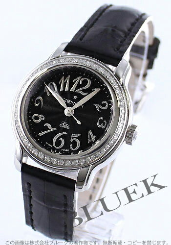 Zenith baby star elite DIA bezel automatic leather Black Womens 16.1220.67/21.C672