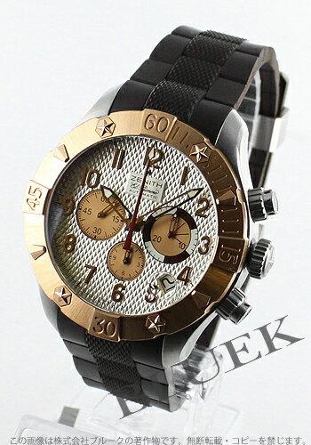 Zenith defy classic クロノエアロ El Primero rubber Brown trimethyl silver mens 86.0516.4000/01.R650