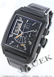 Zenith port Royale open concept titanium leather carbon black mens 96.0540.4021/77.C550