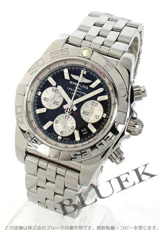 Breitling Wind Rider chronomat B01 automatic chronometer chronograph black & silver men's A011B67PA