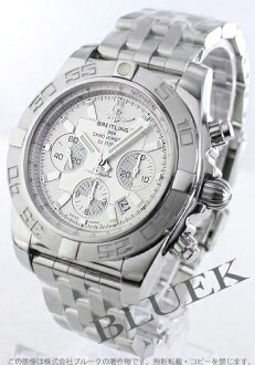 44 Brightman ring wind rider Kurono mat chronometer chronograph silver men A012G84PA