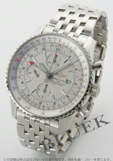 Brightman ring navigator timer world chronograph silver men A242G71NP