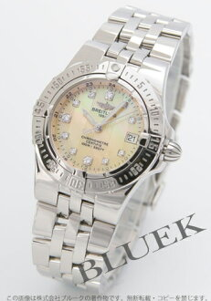 Breitling Wind Rider star liner 11 P diamond yellow shell Womens A710I10PA