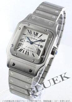 カルティエサントスガルベ LM automatic silver men W20055D6