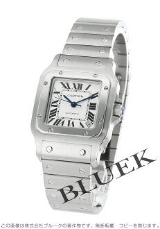 Cartier サントスガルベ XL silver men's automatic self-winding W20098D6