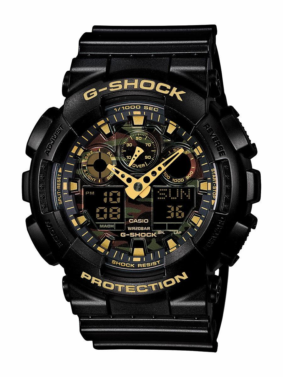 カシオ CasioG-SHOCK カモフラージュダイアル メンズ GA-100CF-1A9JF [送料無料][カシオ][GA-100CF-1A9JF][Casio][時計][新品]